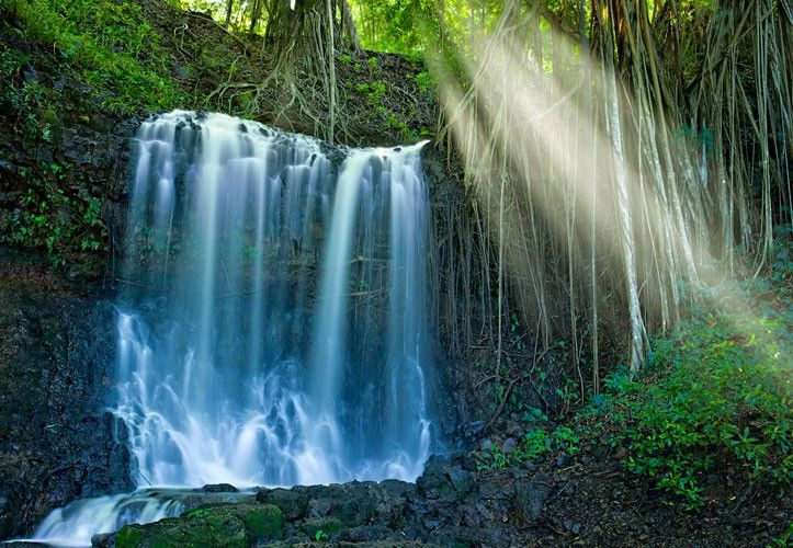 Reconnect with nature.  Photo of Kauai Falls by Peter Lik - Hawaii