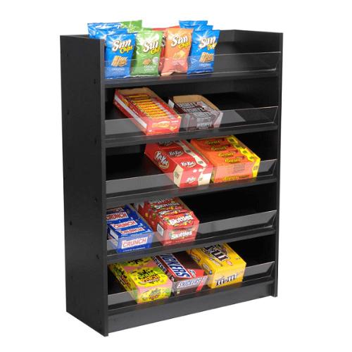 5 Shelf Wood Candy Display Candy Racks Display Shelves Snack