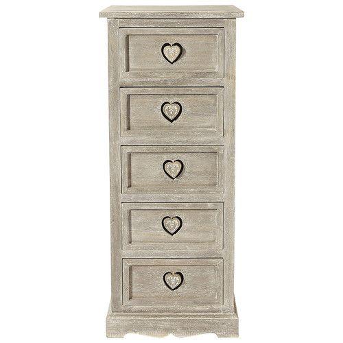 colonne de rangement gris e effet vieilli for the home. Black Bedroom Furniture Sets. Home Design Ideas