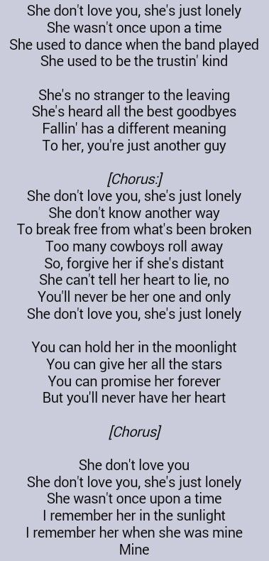Eric Paslay She Don T Love You Love This Song For Some