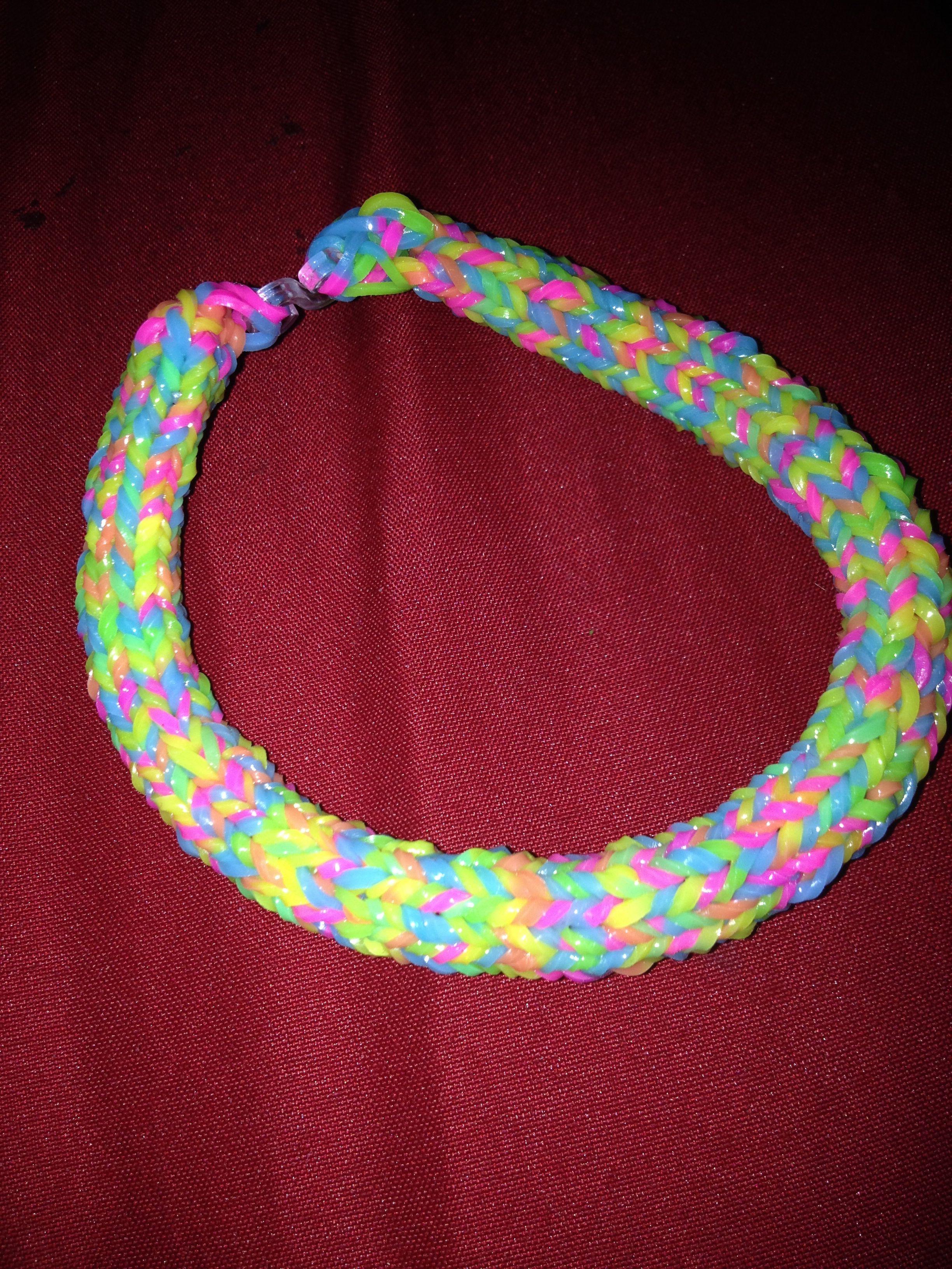 Hexafish Rubber Band Bracelet