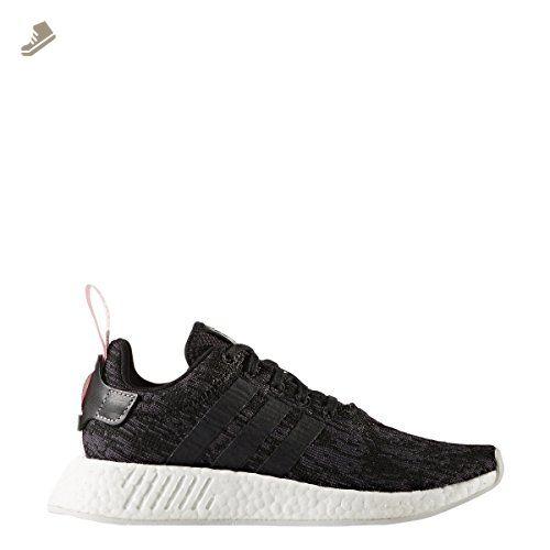 adidas donne nmd r2 nero / nero / wonpnk adidas scarpe da ginnastica