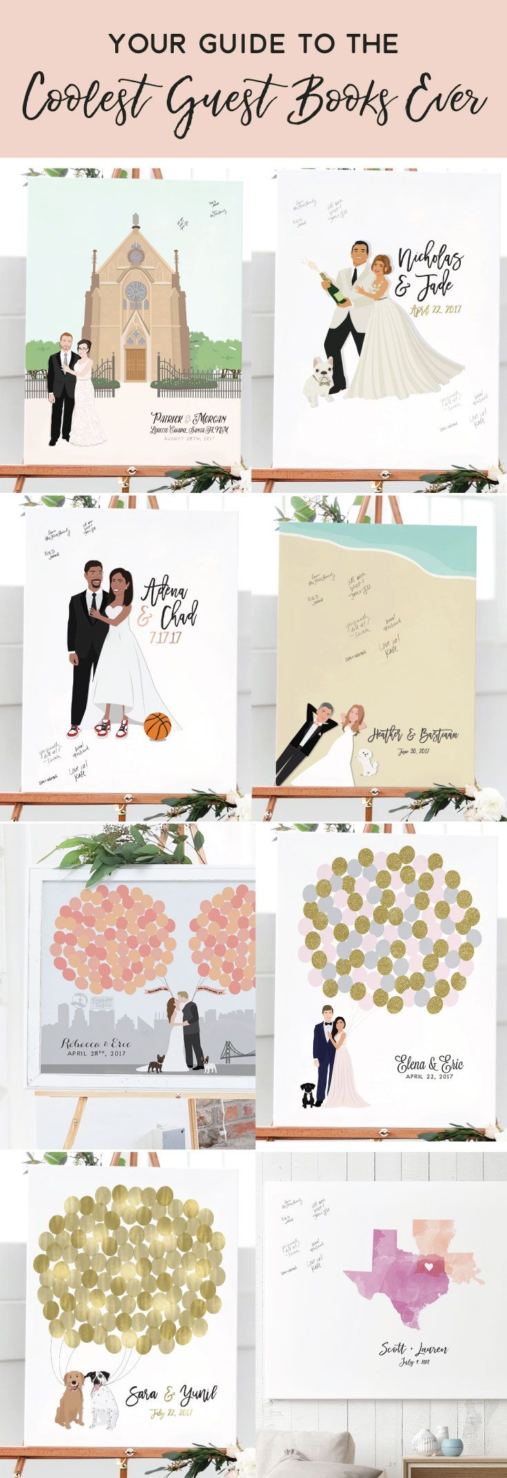 Dresses to wear to a wedding as a guest in april  Shop the coolest wedding guest books ever Every detail in these