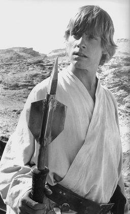 Mark Hamill as 'Luke Skywalker' (Star Wars IV, V & VI)