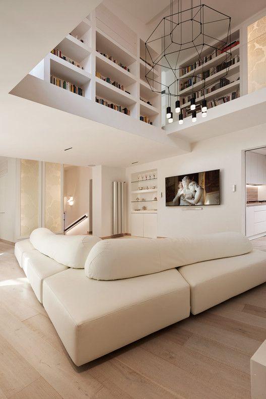 Photo of Navona Penthouse / Carola Vannini Architecture