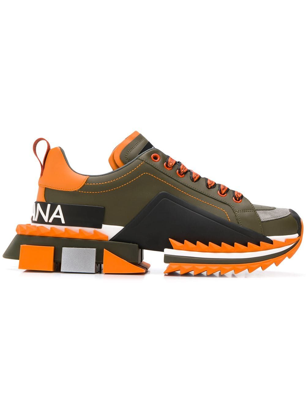 Dolce Gabbana Dolce Gabbana Super King Sneakers Green Dolcegabbana Shoes Sneakers Men Fashion Dolce And Gabbana Man Sneakers Men