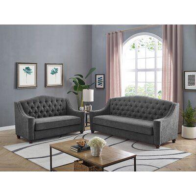 Cotaco 2 Piece Living Room Set
