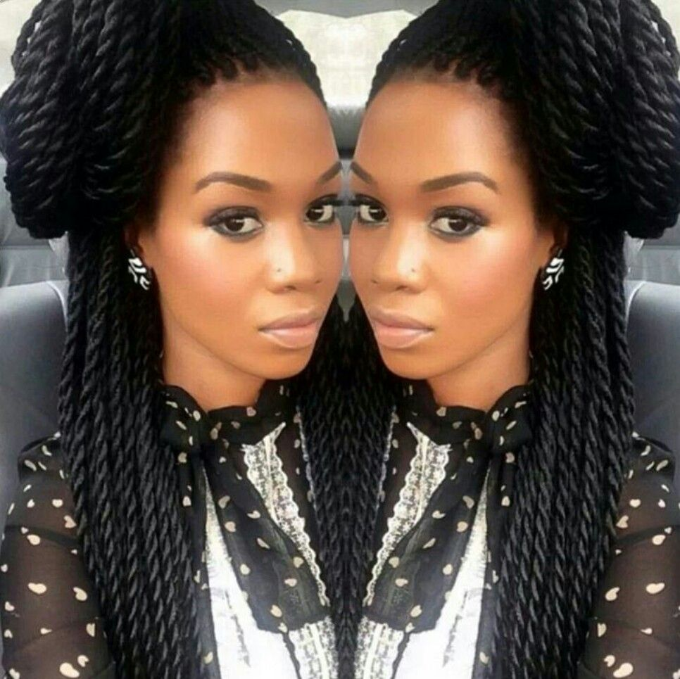 Pin by Meygan on Braids ¤ Twist (Natural hair & Protective ...