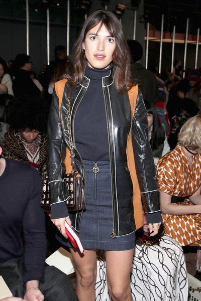 Jeanne Damas Photos Photos - Jeanne Damas attends the Tory Burch FW17 Show  during New York
