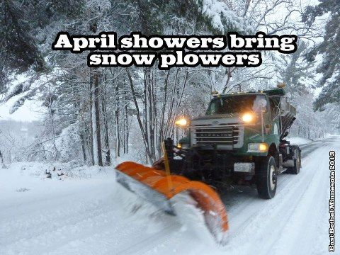 Image result for april snow showers