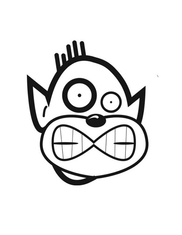 How To Draw Silly Face Coloring Page Coloring Sky In 2020 Silly Faces Coloring Pages Drawings