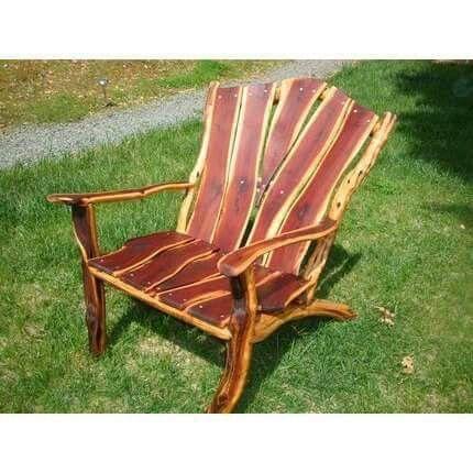 Bacon Adirondack Chair Manzanita