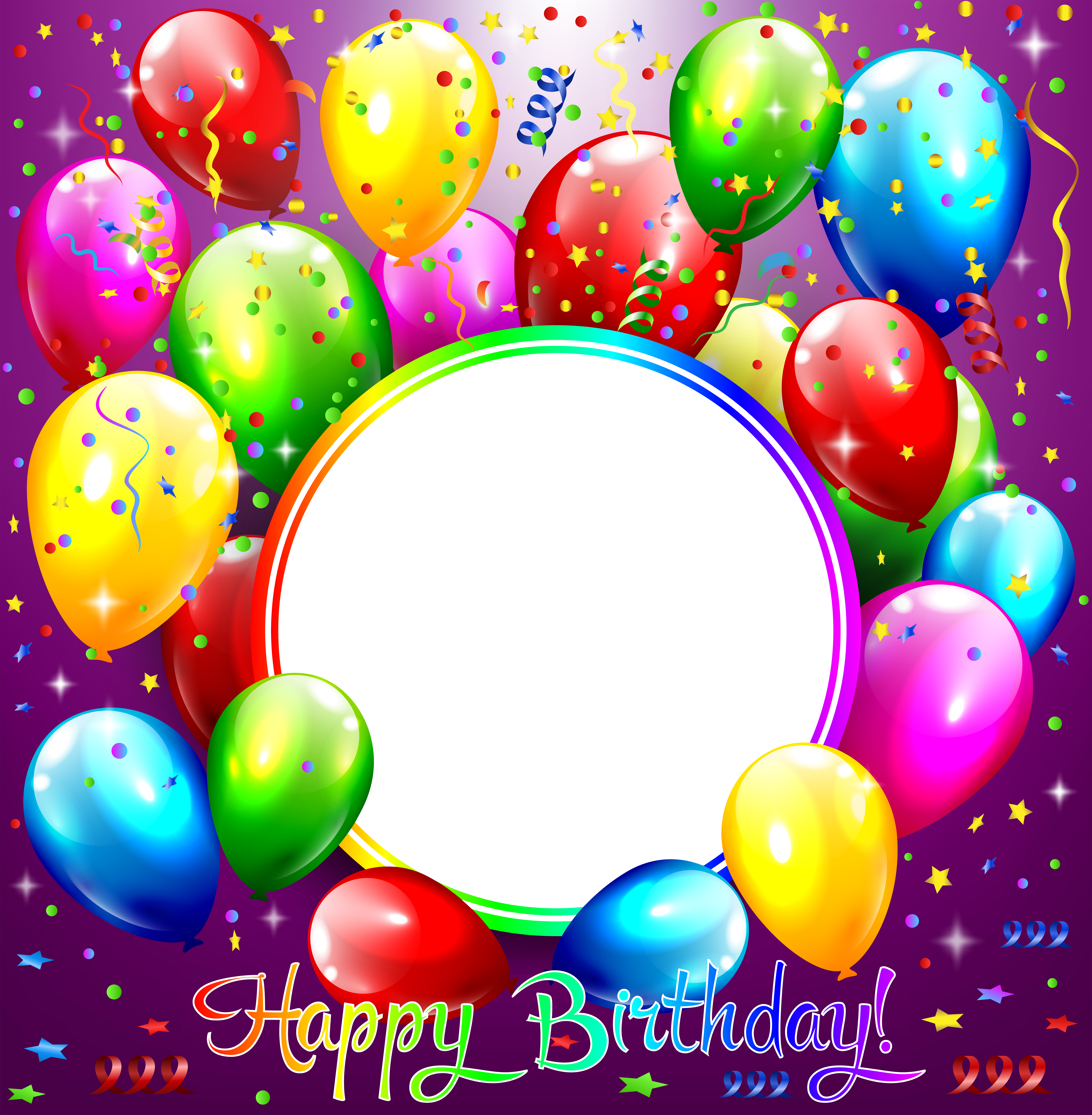Happy Birthday Transparent Purple Frame Gallery Yopriceville High Quality Images And Tran Happy Birthday Frame Happy Birthday Png Happy Birthday Wallpaper
