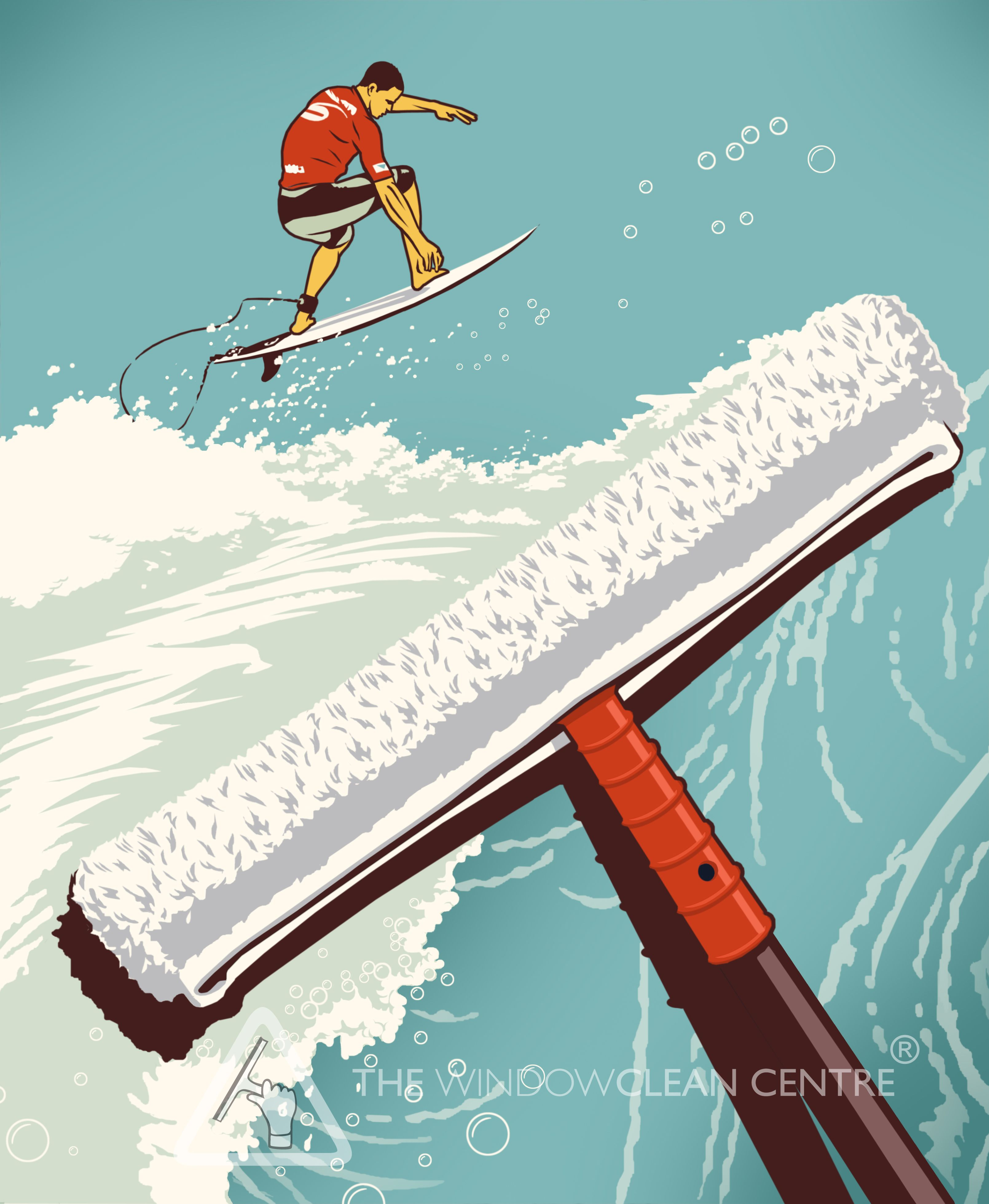 Illustration by Bill Butcher for The Windowclean Centre