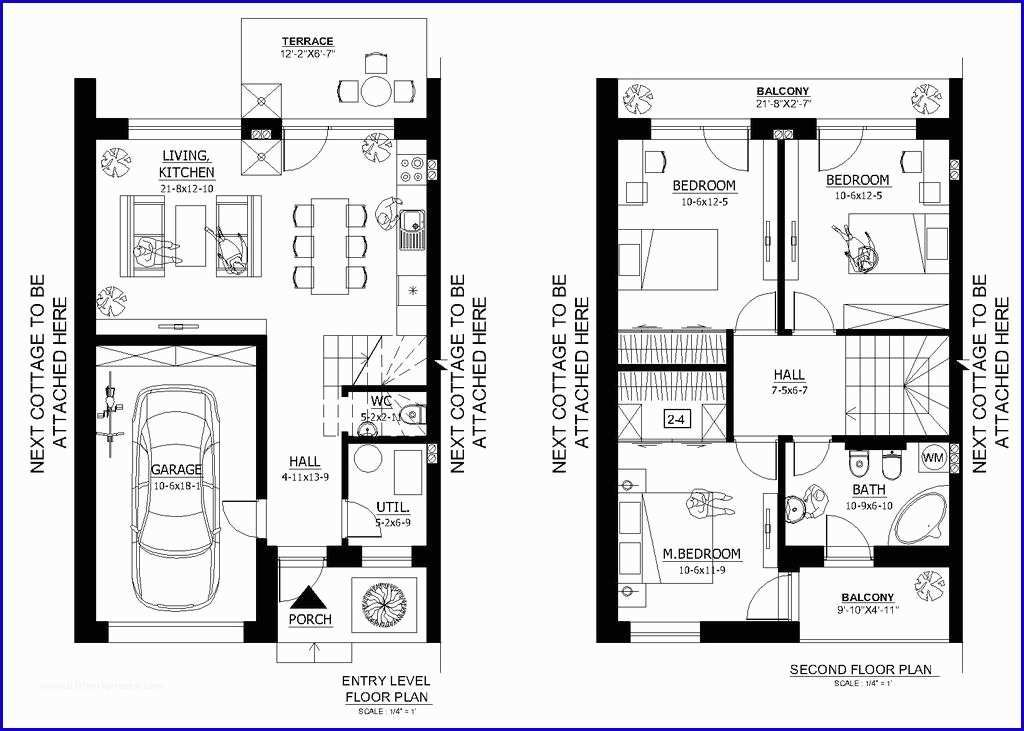 Upgrading Small Modern House Plans Under 1000 Sq Ft And Small House Floor Plans Under Small Modern House Plans Small House Floor Plans Modern Style House Plans