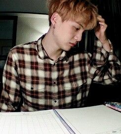 Look at this raw picture of tired, sleepy suga | BTS | Bts, Min