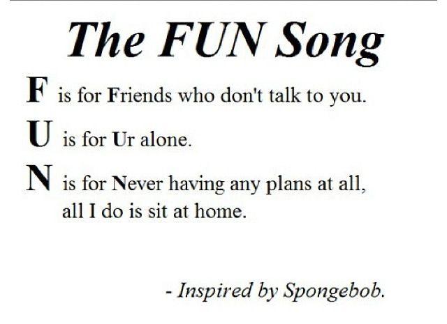 Spongebob Fun Song Lyrics | www.pixshark.com - Images ...