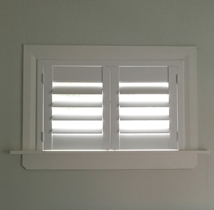 Charming Small Window Blinds Ideas Part - 5: A Lovely Little Shutter That Sits Above The Bed. A Window That Really Is  Too Small For A Blind (looks Wise), But Lets Critical Light Into The Room  Is Ideal ...