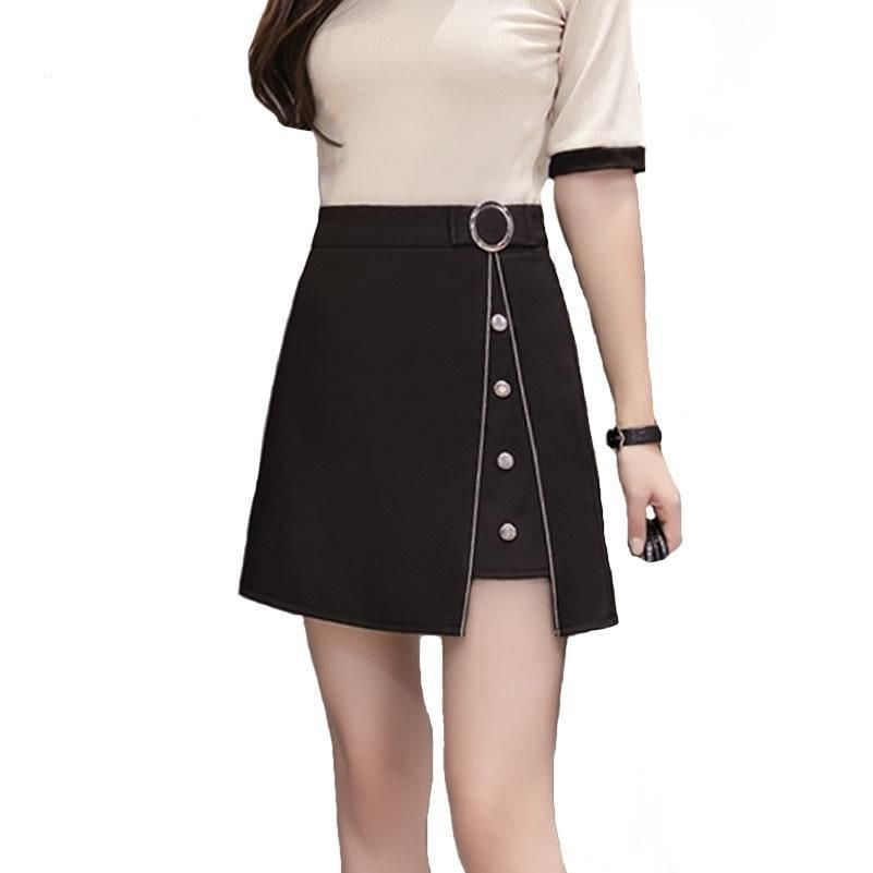 afd13ac28a Preppy Style Mini Skirt Women Elegant Work Skirt Spring Summer Brief High  Waist A-line Black Skirt XS-2XL #swimsuits #dresses #weddingdresses #womens  ...