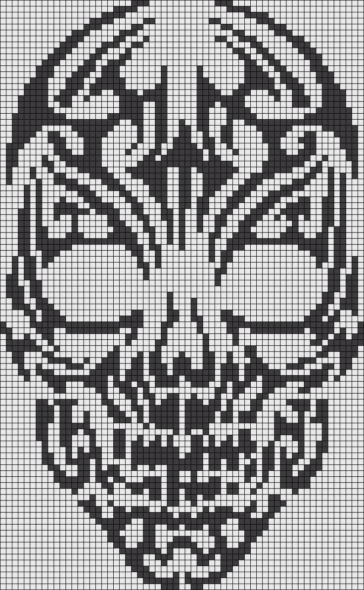 skull patroon