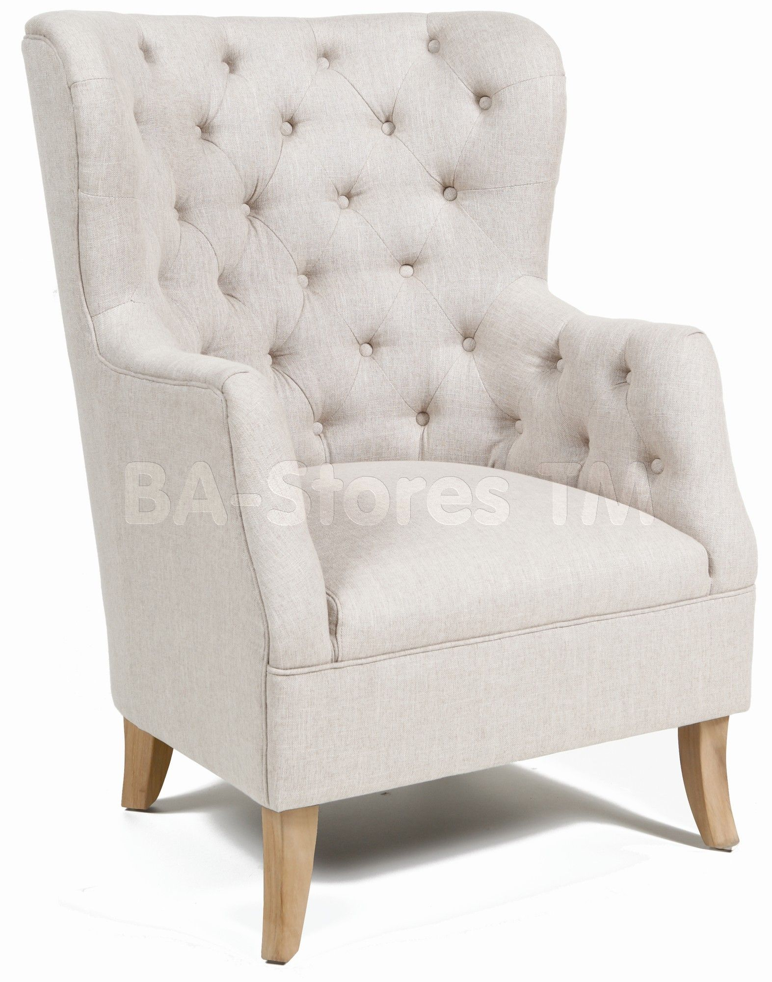 Cafer Light Cream Club Chair | Classic Home Furniture | Pinterest ...