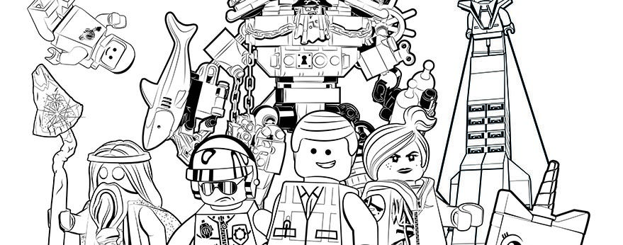 Coloring Pages - LEGO.com The LEGO® Movie Explore - DOWNLOADS ...