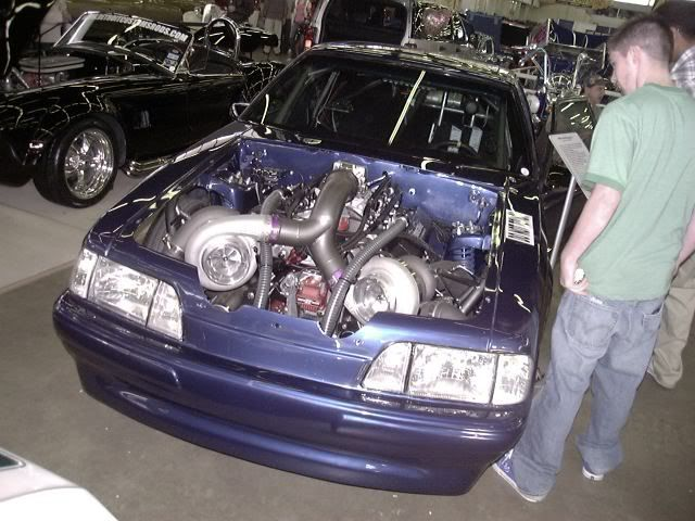 Mustang Twin Turbo – Idée d'image de voiture