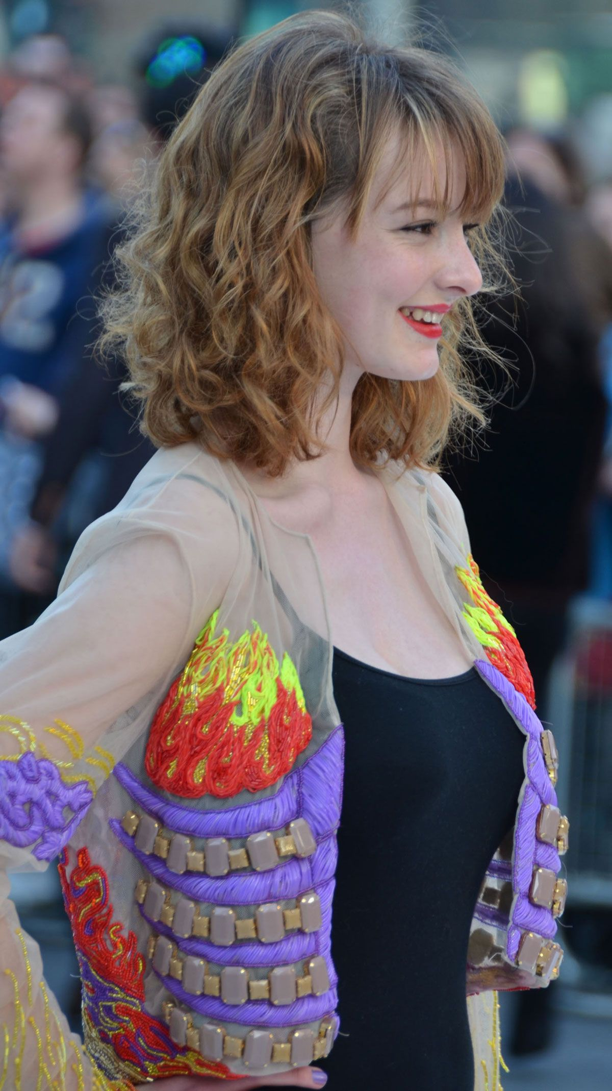 Dakota richards blue nago