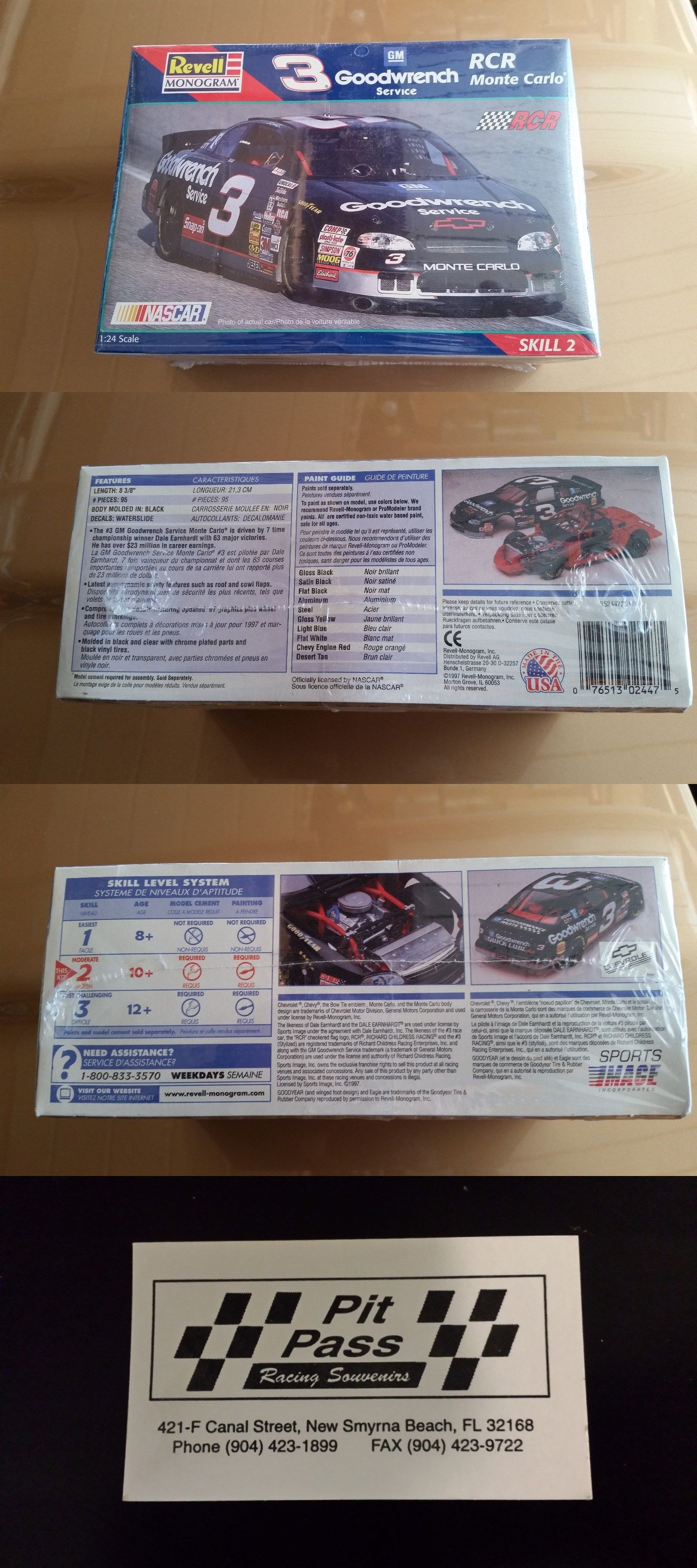 Kits 145964: Dale Earnhardt Sr 1997 # 3 Goodwrench Service Chevrolet