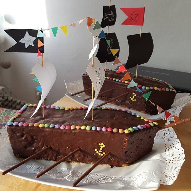Piratenschiff Geburtstagskuchen Zum Funften Geburtstag