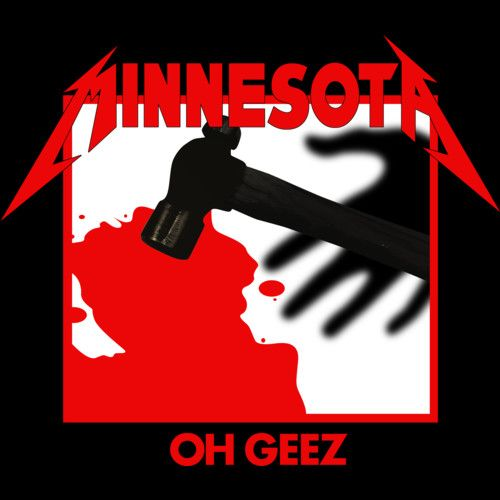 Minnesota Oh Geez Em All is a T Shirt designed by jasonwright to illustrate your life and is available at Design By Humans