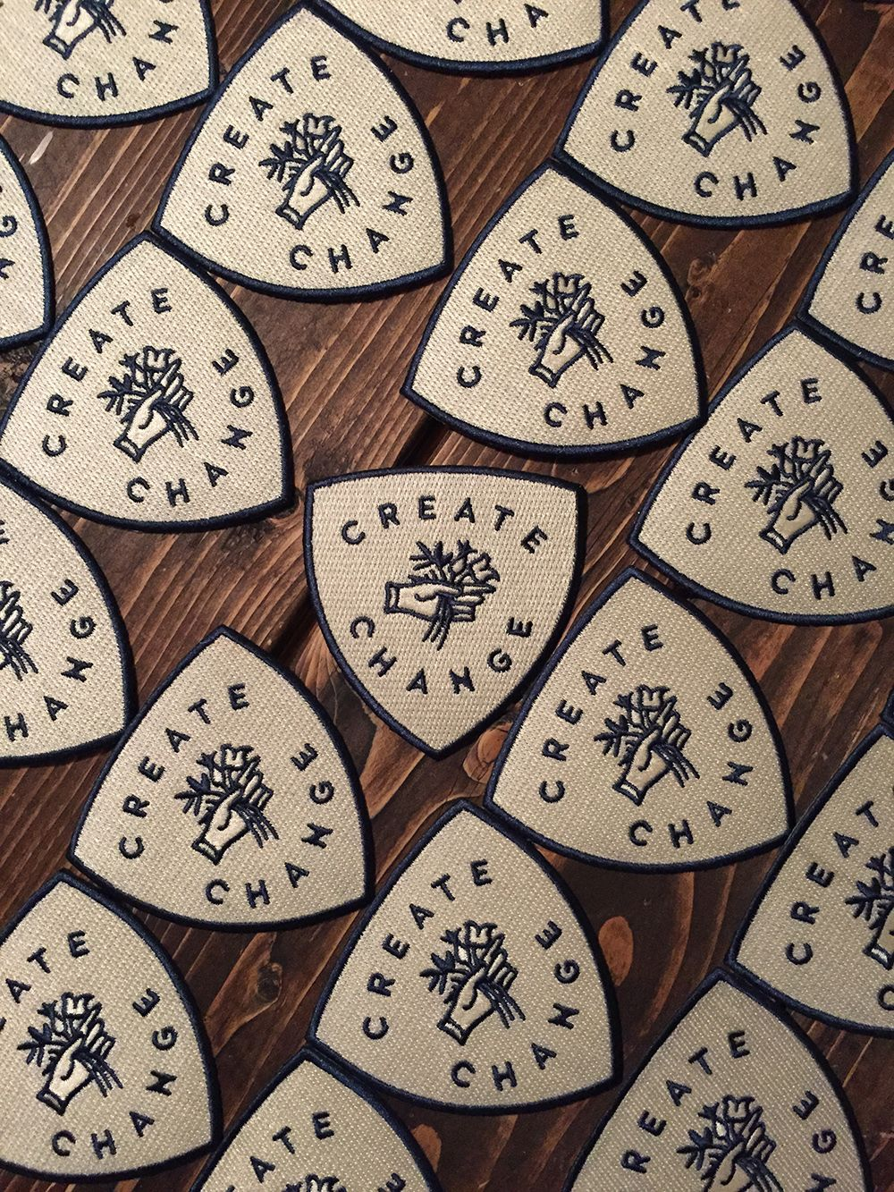 Create Change Iron On Patch Embroidered Patches Patches Iron On Patches