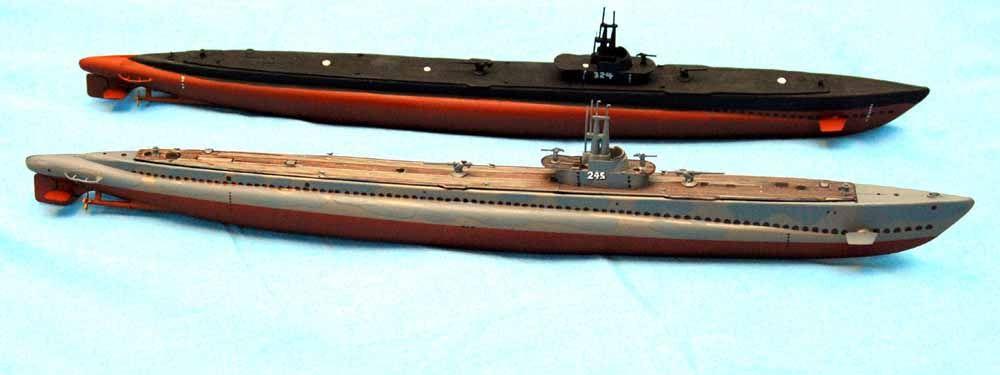 1/240 USS Cobia SS-245 (Lindberg)