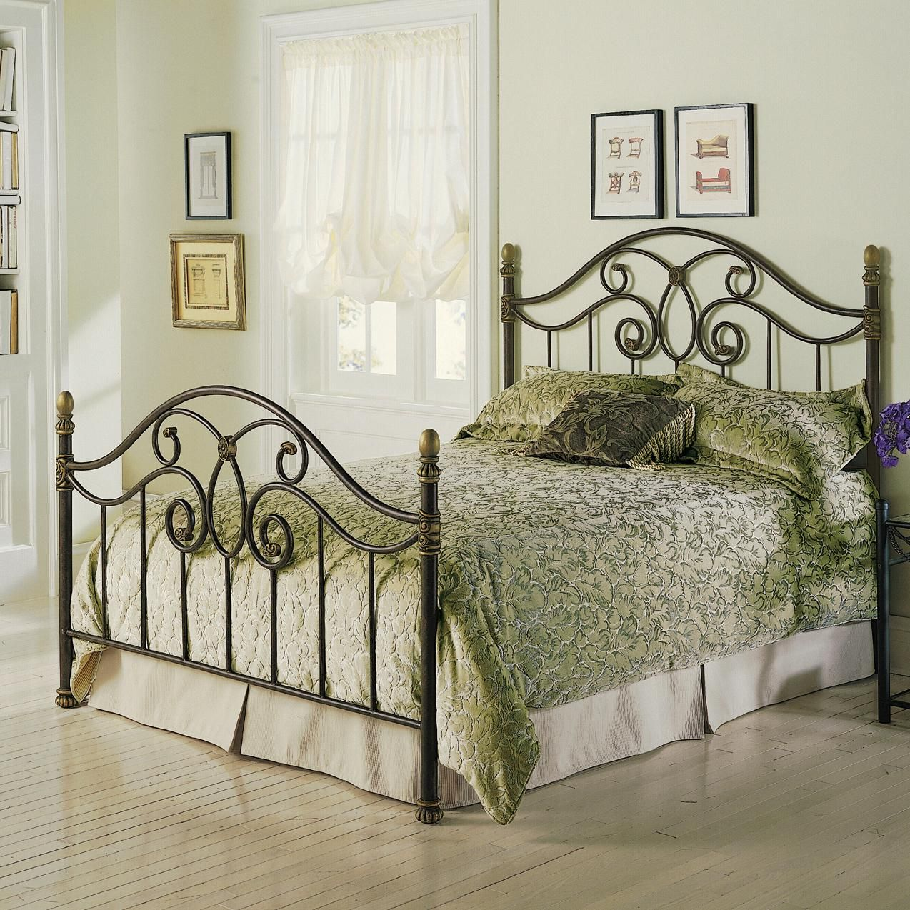 Queen Dynasty Duo Panel Bed styling, Headboards for beds