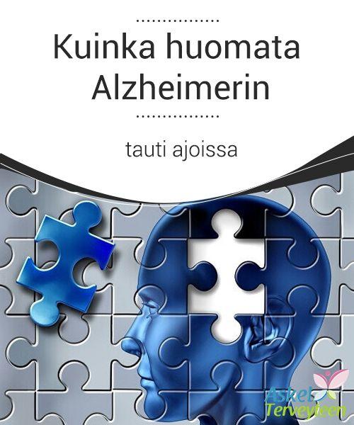 Kuinka huomata Alzheimerin tauti ajoissa   Me #kerromme sinulle mitkä merkit ja oireet voivat auttaa #havaitsemaan Alzheimerin taudin ja #mahdollisuuden kärsiä tästä sairaudesta.  #Mielenkiintoistatietoa