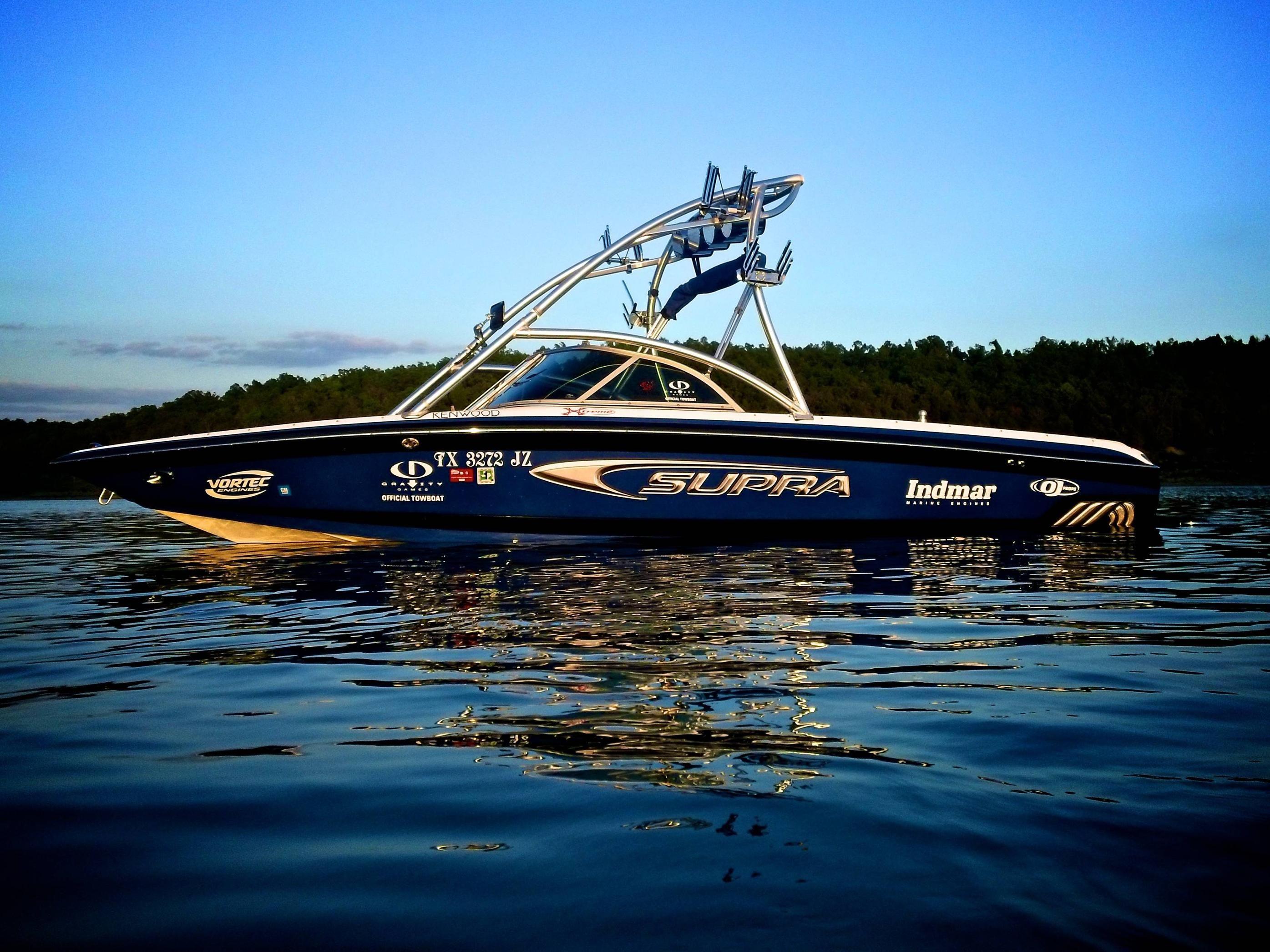 Supra Gravity Games Boat