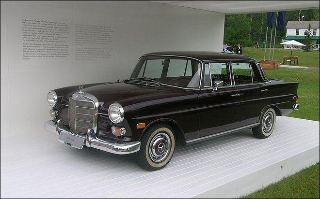 The top ten mercedes benz models of the 1960s mercedes for Best mercedes benz model