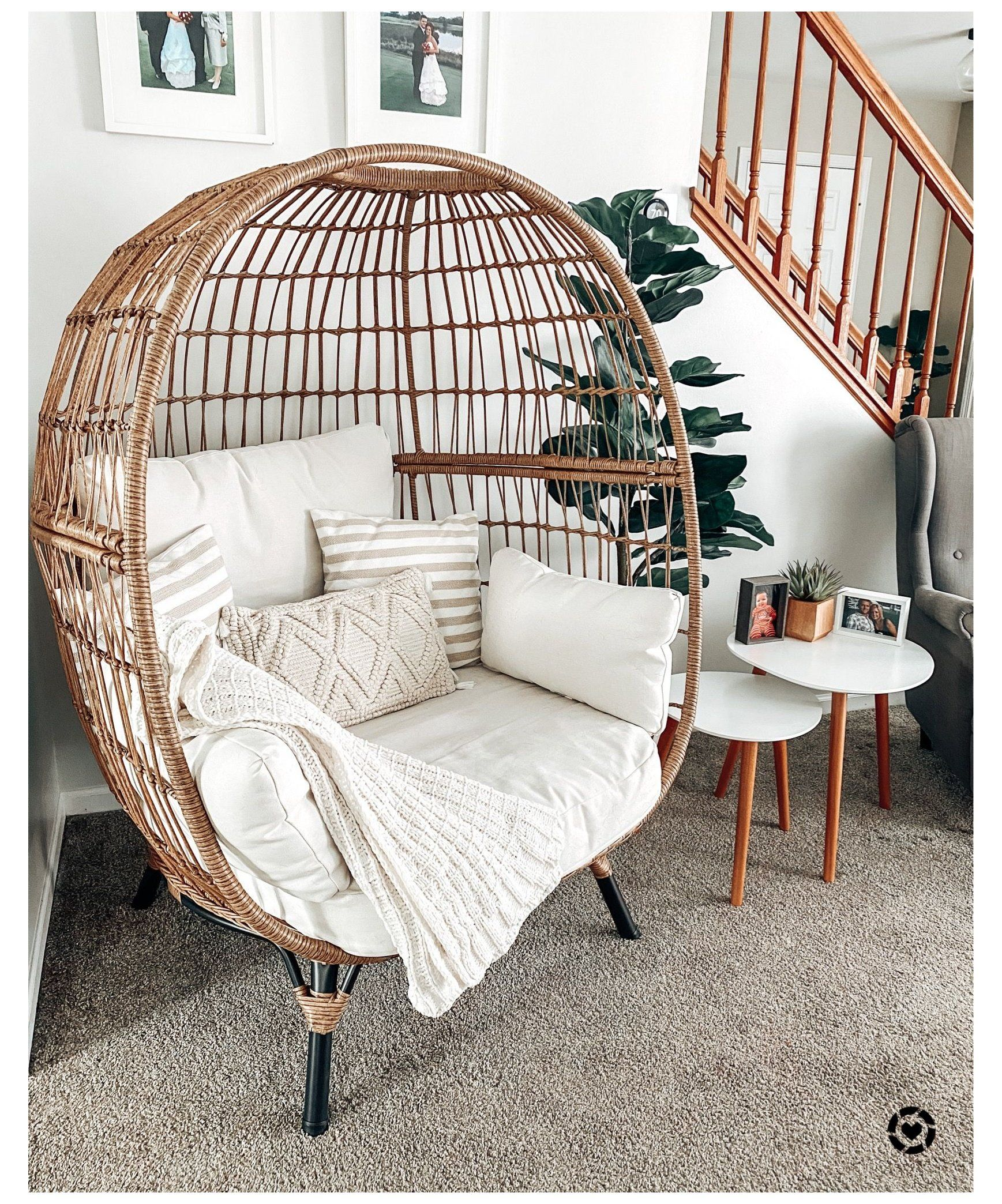 Opal House Egg Chair Indoor Egg Chair Indooreggchair This Egg Chair Is Great For Indoors Too Room Inspiration Bedroom Redecorate Bedroom Cozy Room Decor