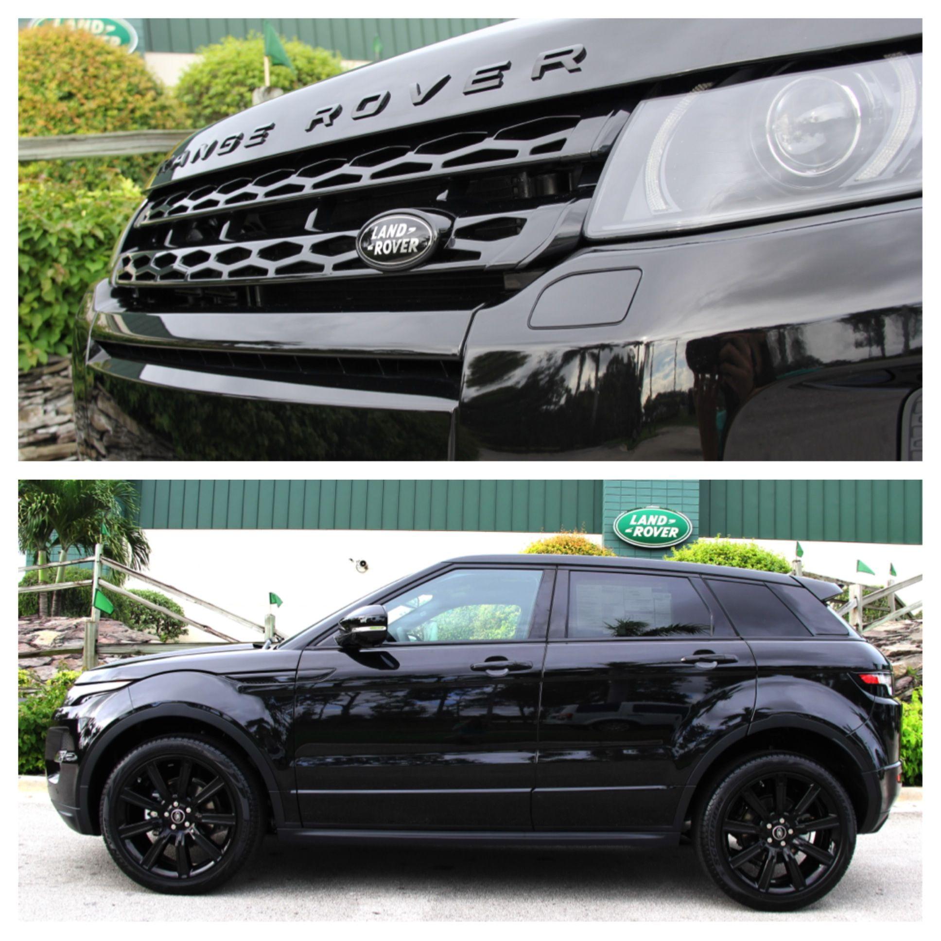 Land Rover Range Rover Evoque Dynamic Black Limited