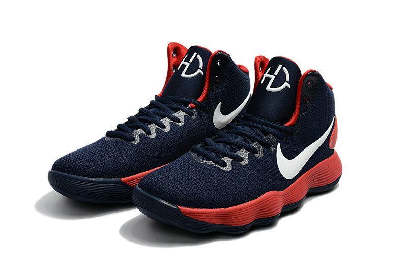 Latest Nike Hyperdunk 2017 USA Navy University Red