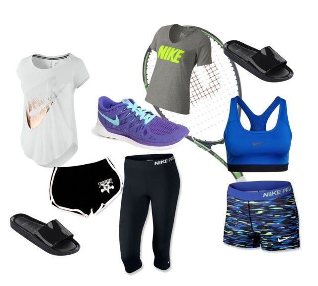 sport day by mcclurejasmine on Polyvore featuring NIKE and Melissa