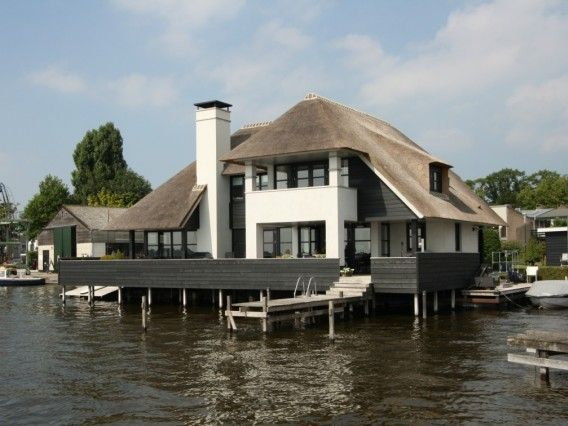 Huis 25 Droomhuizen Pinterest Modern And Thatched Roof