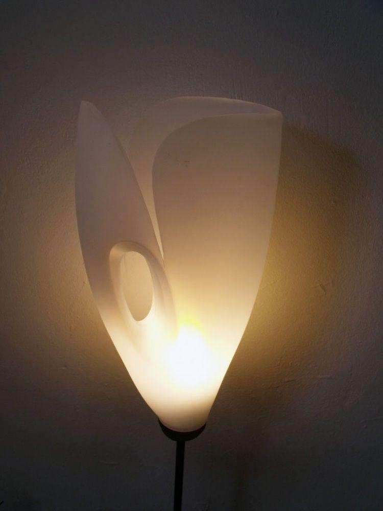 stehlampe aus weichsp lerflasche selber machen diy und selbermachen pinterest stehlampen. Black Bedroom Furniture Sets. Home Design Ideas