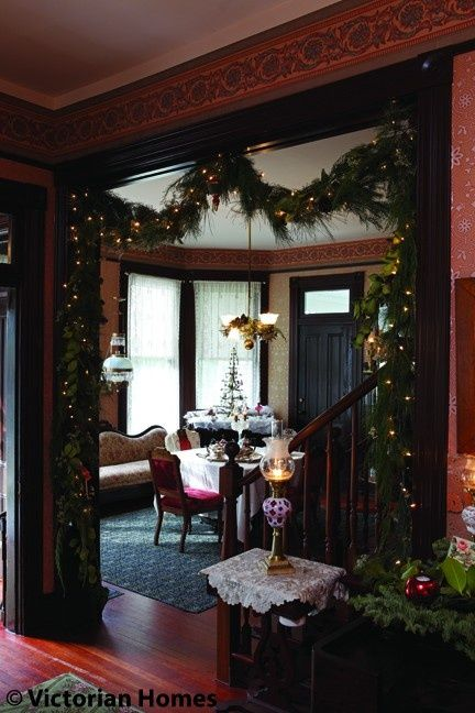 Beau Victorian Christmas Decorations For The Home | Victorian Christmas Decor | Victorian  Homes