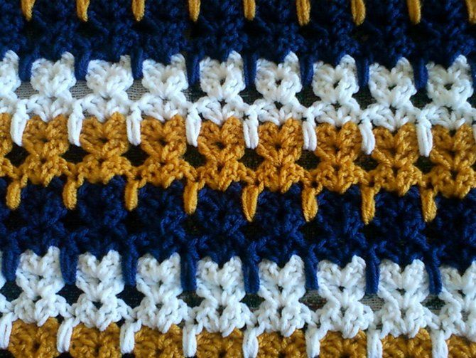 Crochet Abstract Cats Stitch Free Pattern Video Instruction