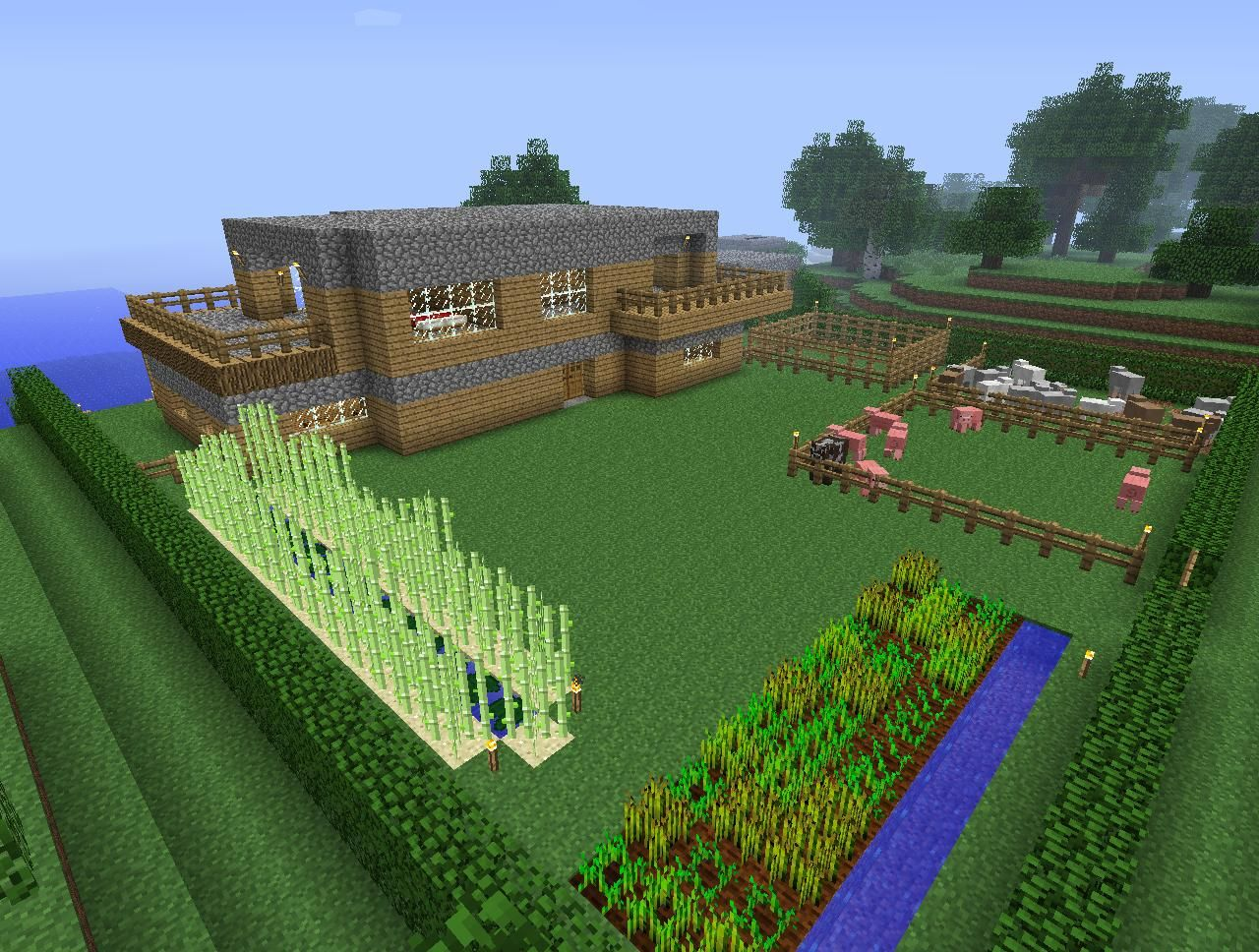 Couple pics of my house in survival mode - Screenshots - Show Your
