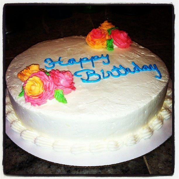Traditional Birthday Cake Sweet Life Pinterest Birthday Cakes
