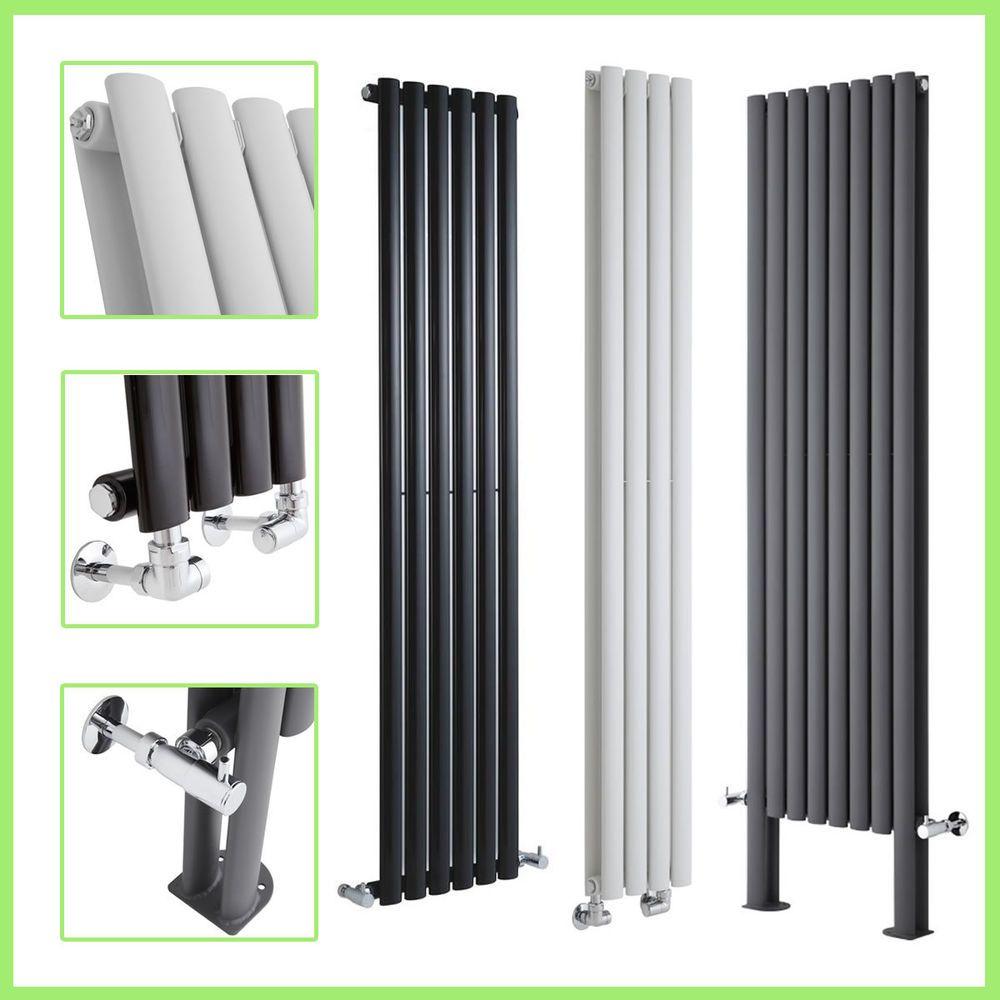 Details About Vertical Designer Radiator Oval Column Tall Upright Central Heating Radiators Uk With Images Designer Radiator Radiators Uk Central Heating Radiators