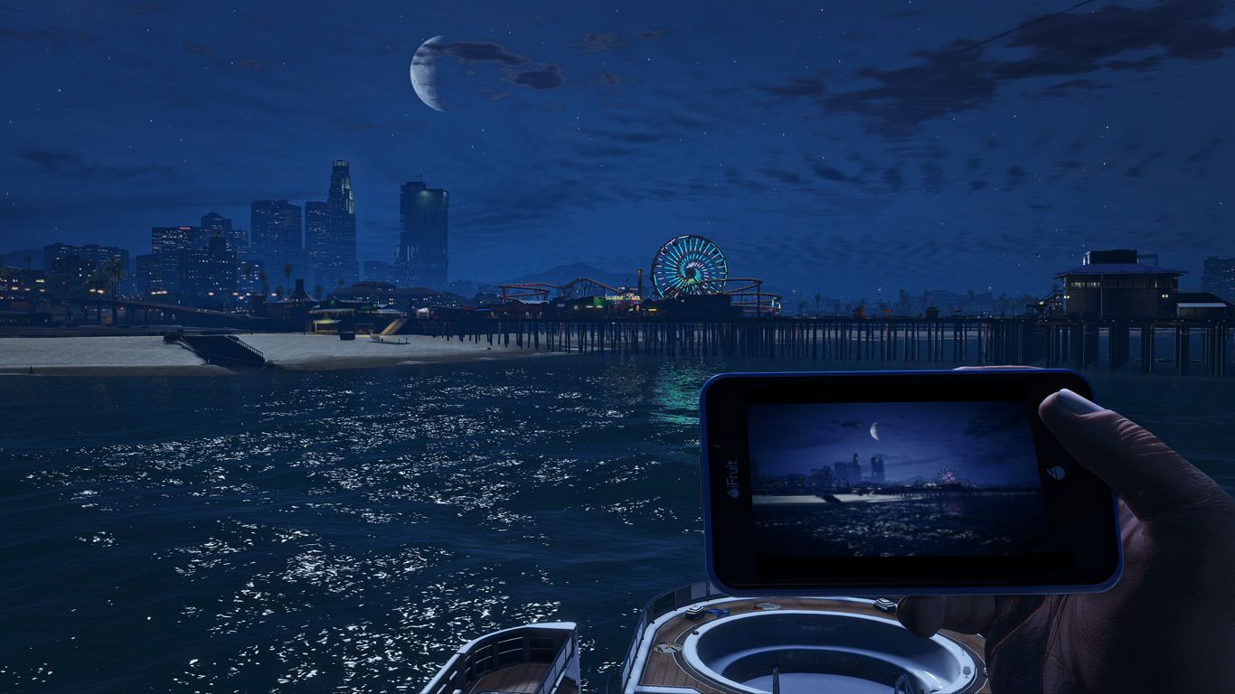 GTA 5 PC - Ekran Görüntüsü