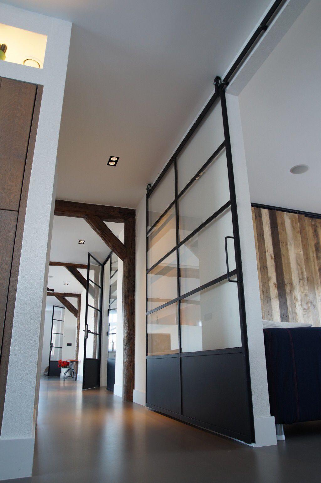 Porte Scorrevoli Stile Industriale industrial mixed with rustic | porte scorrevoli, arredamento